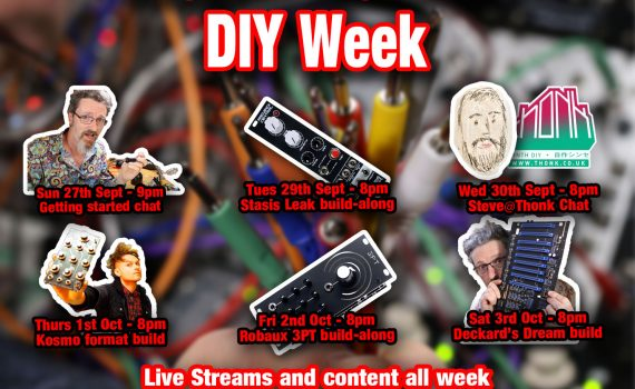 DIY Week Schedule